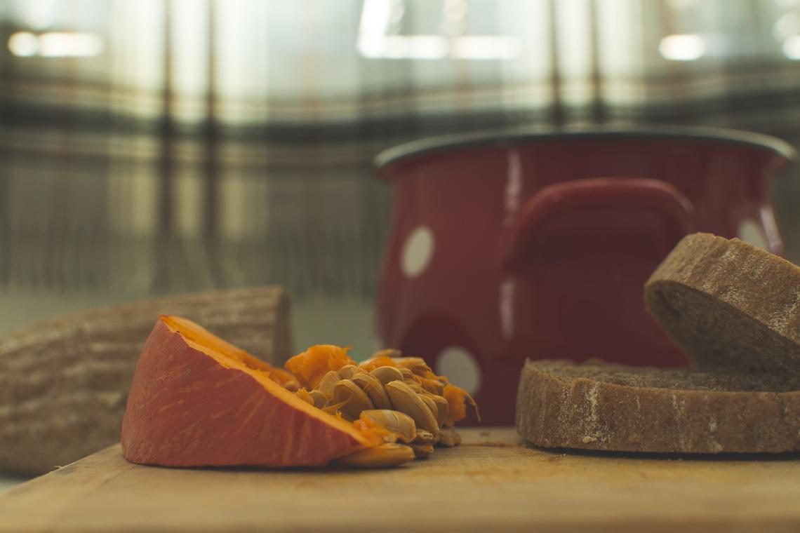 Krémová Hokkaido polievka so zázvorom